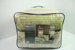 Madison Park MPE10-819 Faux Silk Comforter Classic Luxe All