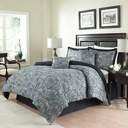New Traditions by Waverly 6-Piece Paddock Shawl Comforter Se
