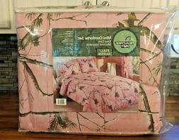 New Realtree AP Pink Camo Bedding Comforter Set W/ SHAMS Que