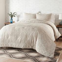 NEW Better Homes & Gardens King Comforter Set  100% Cotton