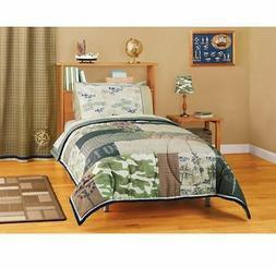 New Boy American Kids Rough Terrain Reversible Comforter Twi