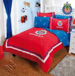 New Boys Bedding Club Chivas Liga MX Football Soccer Red Com