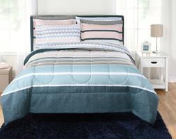 New Crescent 5 Piece Twin XL Size Comforter Set Teen Bedding