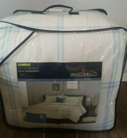 NEW CUDDL DUDS KING Heavyweight cotton Flannel BED Comforter