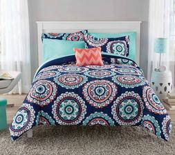 New Medallion Queen Size Comforter Set Teen Bedding Kid's Be