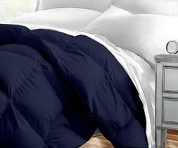 New Sleep Restoration Micromink Comforter Navy King/Cal King