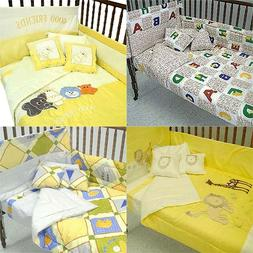 nEw NURSERY CRIB BEDDING SET - Baby Comforter Sheets Accesso