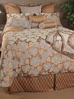Bedding Inspirations Newcastle Queen Comforter Set Ensemble