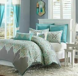 Madison  Nisha Comforter Set, King/Cal King, Ivory