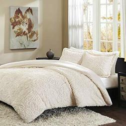 Madison Park Norfolk Full/Queen Size Bed Comforter Set - Ivo