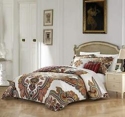 Chic Home Orli 5 Piece 100% Cotton Comforter Set Reversible