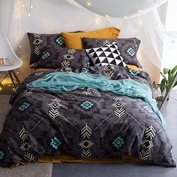 TheFit Paisley Textile Bedding for Adult U1602 Art Bohemian
