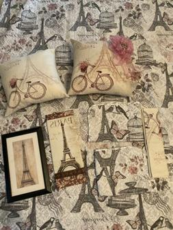 Paris Comforter And Accessories