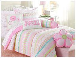 Cozy Line Home Fashions Soft Cotton Bright Greta Pastel Desi
