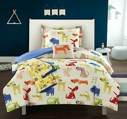 Chic Home Pet Land 5 Piece Comforter Set Puppy Dog Youth Bed