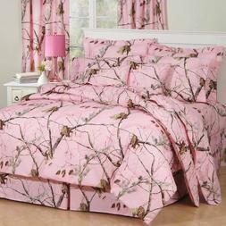 Pink Camouflage Bedding Set Licensed RealTree AP Pink Comfor