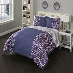 Piper Comforter Set, Twin X-Large, Pink Home &amp Kitchen