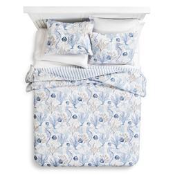 homthreads Pismo Beach Comforter Quilt and Pillow Sham Set -