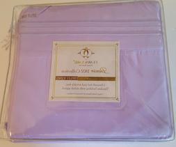Clara Clark Premier 1800 Series Split King Sheets Set - LAVE