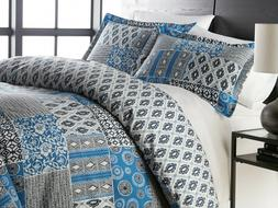 Premium Quality Oversized Global Patch Reversible Comforter
