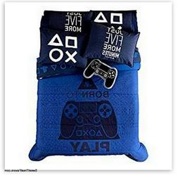 PS4 Comforter Bedding Video Game Gaming Teens Boy License QU