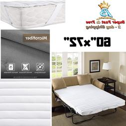 Pull Out Sofa Queen Size Bed Mattress Pad Waterproof Bedding