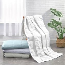 Quality 75% White Duck Down Comforter Blanket Summer Bedding