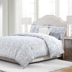 Klein Bonaire Queen 6 piece Comforter Set 300 TC 100% Cotton