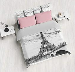 SHOMPE Queen Size Bedding Sets Paris Memory Eiffel Tower,3 P