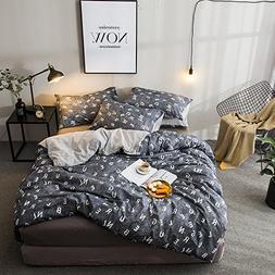 VClife Lightweight Cartoon Bedding Sets Twin Cotton Duvet Co