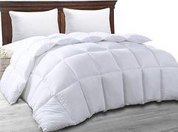 Best Queen Size Bed White Luxury Quilted Comforter for Women