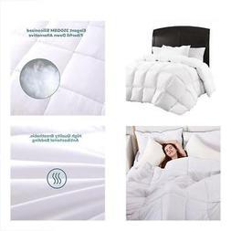 Sable Queen Comforter, Down Alternative Plush Microfiber Fil