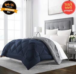 QUEEN Size Heavy Comforter Goose Feather Down Warm Best Larg