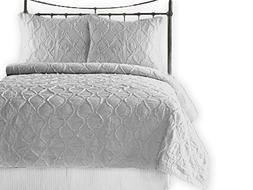 California Design Den Quilt/Coverlet Set 100% Pure Cotton Ru