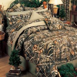 Max 4 Camouflage Bedding Set Licensed Realtree Comforter Sha