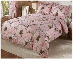 Realtree Pink Bedding Comforter Set