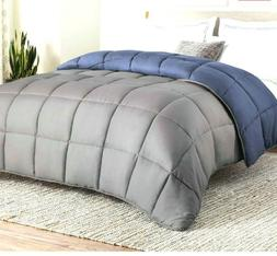 Linenspa Reversible Down Alternative Quilted Comforter, Over