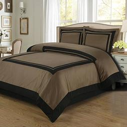 reversible hotel comforter set