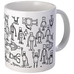 CafePress - Robots Mug - Unique Coffee Mug, Coffee Cup