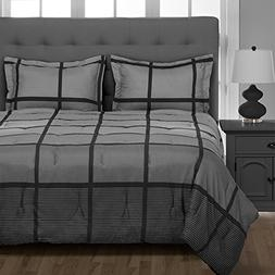 Rockland 5-Piece Twin XL Dorm Bedding Set, Twin Extra Long -