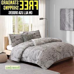Madison Park Pure Ronan 5 Piece Cotton Comforter Set KING SI