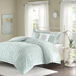 Madison Park Sabrina Comforter Set Full/Queen Size - Teal, M
