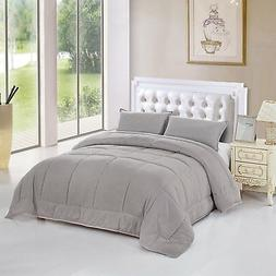 Unique Home All Season Goose Down Alternative Quilted Comfor