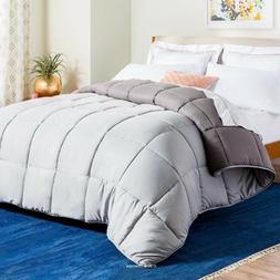 LINENSPA Reversible Down Alternative Quilted Comforter with