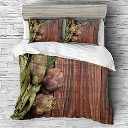 3 Pieces /All Seasons/Home Comforter Bedding Sets Duvet Cove