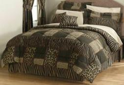 Alcove Senegal Bedroom Comforter Set 20 Piece - Brown - Size