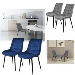 Set of 2 Dining Chair Contemporary Elegant Comfort Soft Cush