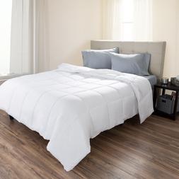 Set of 2 Down Alternative Hypo-Allergenic Comforter King Whi