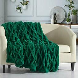 Shifra Throw Blanket Cozy Super Soft Ultra Plush Decorative