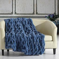 Chic Home Shifra Throw Blanket Cozy Super Soft Ultra Plush D